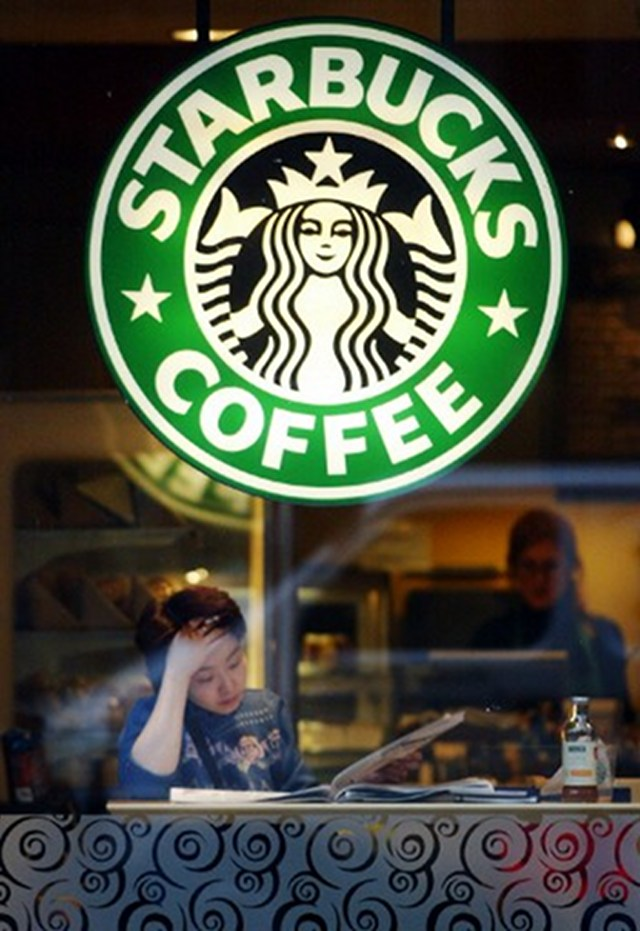 IN TROUBLE? Starbucks faces British body inquiry on its tax practices. Photo by AFP