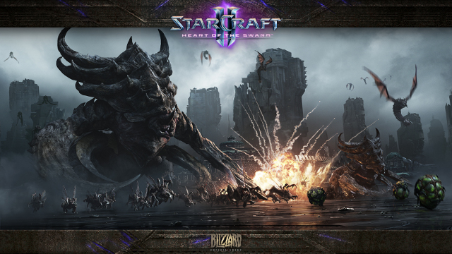 HEART OF THE SWARM. Blizzard opens up their game's pre-orders with a release date reveal and cinematic. Picture from Blizzard Entertainment.