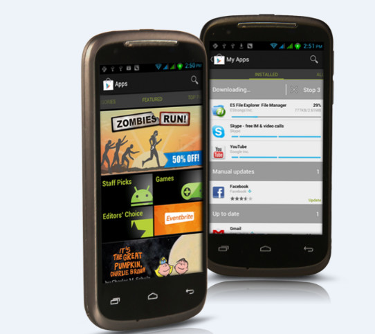 STARMOBILE ASTRA. A capable budget phone running Android 4.0 Ice Cream Sandwich. Photo from Starmobile.