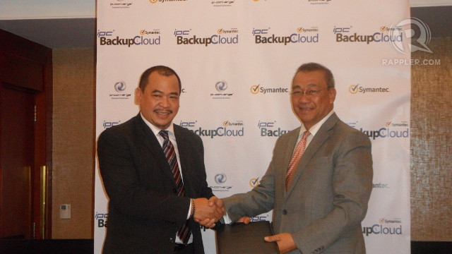 IPC BACKUP CLOUD RISES. IP-Converge and Symantec join forces to provide enterprise cloud backup solutions for Philippine businesses.