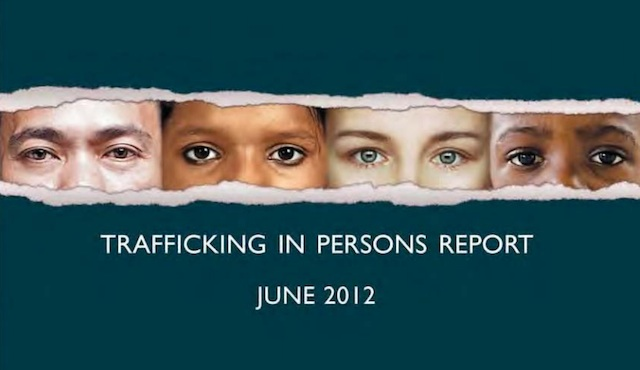 Trafficking in Persons report 2012.
