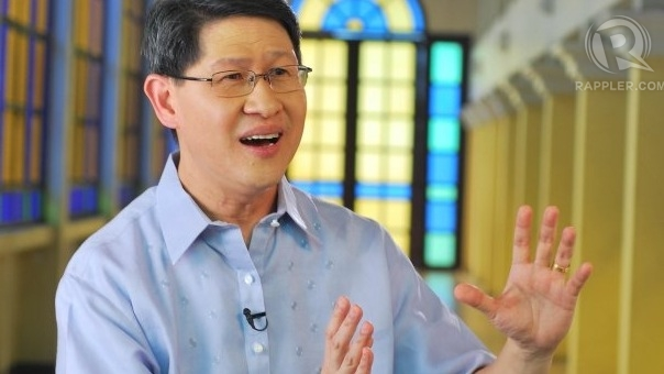 DANGEROUS 'CULTURE'? Manila Archbishop Luis Antonio Tagle echoes the Catholic Church's fear of the RH bill. File photo from Jesuit Communications