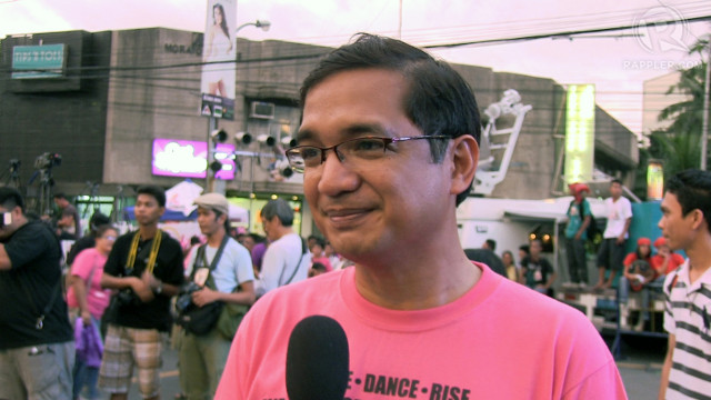 V-MEN. Rep. Teddy Casiño thinks that violence against women degrades humanity