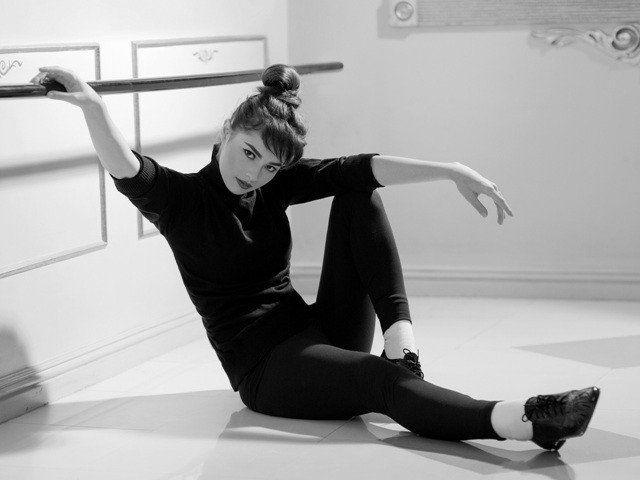 """THE FACE."" Andi Eigenmann channels the ballerina and dancer in Audrey Hepburn in this photo that bagged 3rd place. Photograph by Doc Marlon Pecjo"
