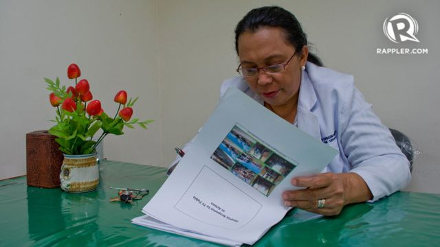 PUBLIC SERVICE. Nurse Thelma Barrera oversees the deployment of psychosocial support teams throughout the country. Photo by Katerina Francisco