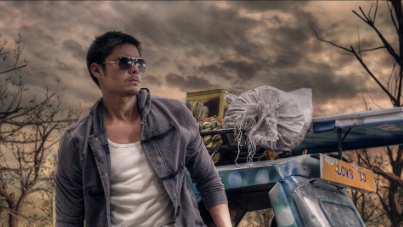 'TIKTIK' PRODUCER AND ACTOR Dingdong Dantes in a scene from the movie. Image from Erik Matti