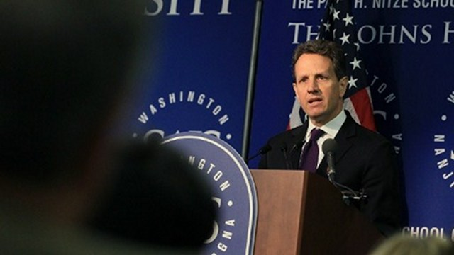 LEAVING. Tim Geithner leaves the US Treasury after serving 4 years under the Obama administration. Photo by AFP