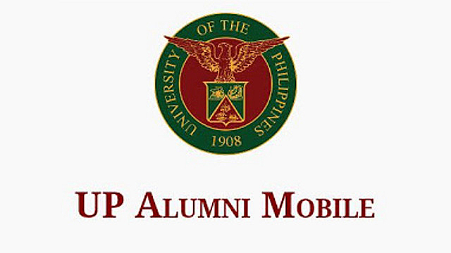 UP ALUMNI MOBILE. An Android app for UP's Alumni is now available on the Google Play Store. Screenshot from Google Play Store.