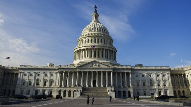 The US Capitol in Washington, DC, on January 2, 2013. AFP PHOTO / Saul LOEB