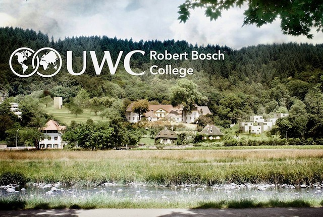 NEW HOME. Daniel is headed to the Robert Bosch United World College in Germany in August. Robert Bosch College website