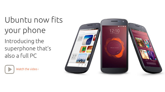 UBUNTU FOR PHONES. The Ubuntu operating system is getting a smartphone version, though no carriers have signed on yet. Screen shot from http://www.ubuntu.com/devices/phone