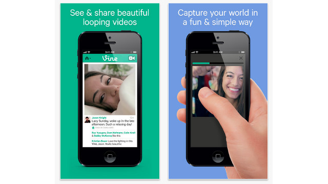 VINE TROUBLES. Vine begins cleaning up its content and searches after an influx of porn plagues the app. Screen shot from Apple.