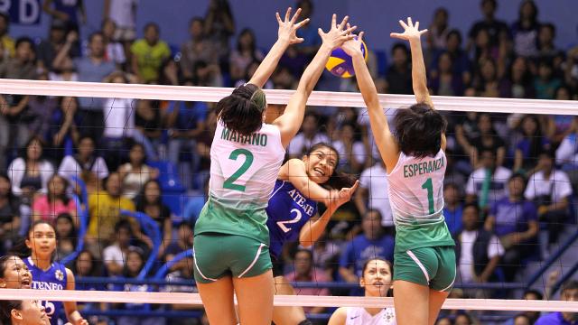 DLSU wins UAAP women's volleyball