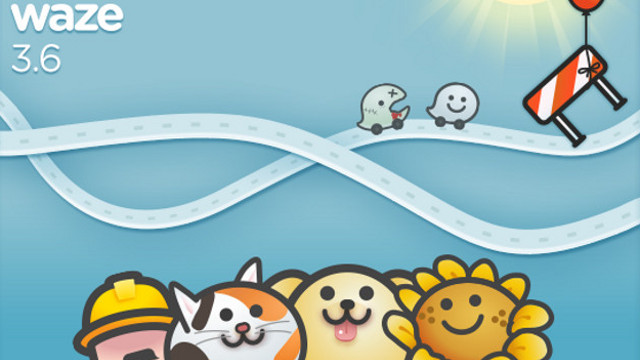 CROWDSOURCING THE ROAD. Waze 3.6 adds crowdsourcing functionality for road closures. Photo from Waze.