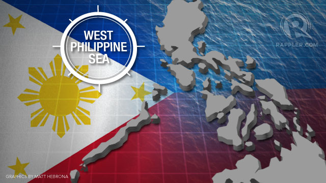 "'WEST PH SEA' The Philippines renamed its territories claimed in the South China Sea and its 200-nautical-mile EEZ as ""West Philippine Sea' in September 2012"