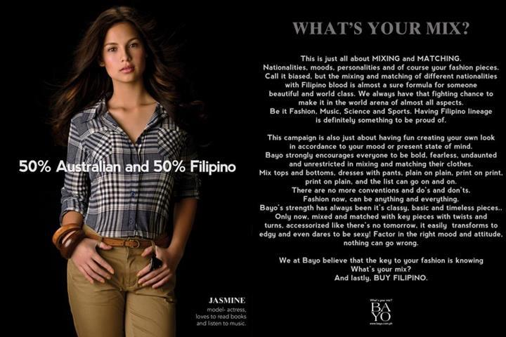 Fil-Aussie celebrity Jasmine Curtis-Smith is featured in the more controversial ad from the campaign.