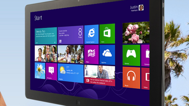 THE FUTURE OF WINDOWS. Will Windows 8 get cheaper and better improved? Screen shot from Microsoft.