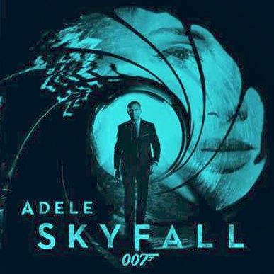 ADELE SINGS FOR BOND, and both the singer and the spy's fans are excited to hear it. Image from Adele's Facebook page