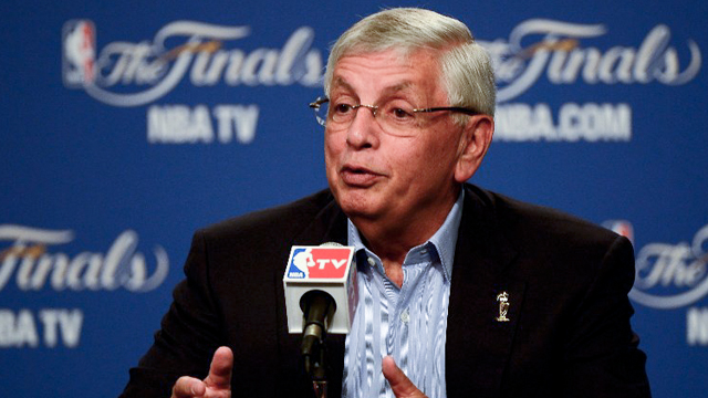 Commissioner David Stern: The NBA has lost a visionary owner. File photo by AFP