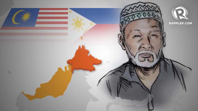 PINOY OR MALAYSIAN? Agbimuddin Kiram's citizenship is not clear. Graphic by Teddy Pavon