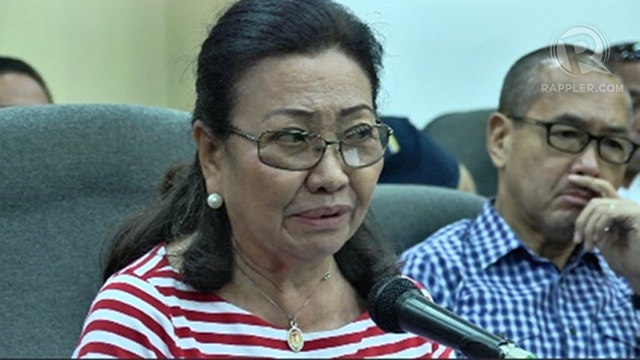 'VERY UNFAIR.' Acting Cebu Gov Agnes Magpale says speculation she got the post because of her brother, Cabinet Secretary Jose Rene Almendras, is very unfair.