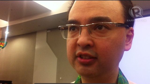 'MARTIAL LAW-LIKE.' Senate Minority Leader Alan Peter Cayetano criticizes Senate President Juan Ponce Enrile for recalling his and Sen Trillanes' staff. He said, &quot;Is this the kind of Senate they want?&quot; Photo by Purple Romero