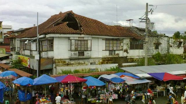 SAVE BAHAY ALBERTO. Alberto House as of October 21, 2012. Photo by BJ Borja