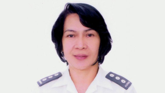 7th FEMALE GENERAL: Brigadier General Marian Aleido
