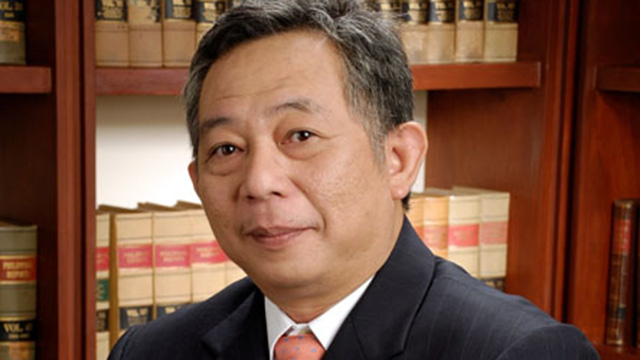THE PRESIDENT'S COUNSEL. Alfredo Benjamin Caguioa. Photo from Caguioa & Gatmaytan law office