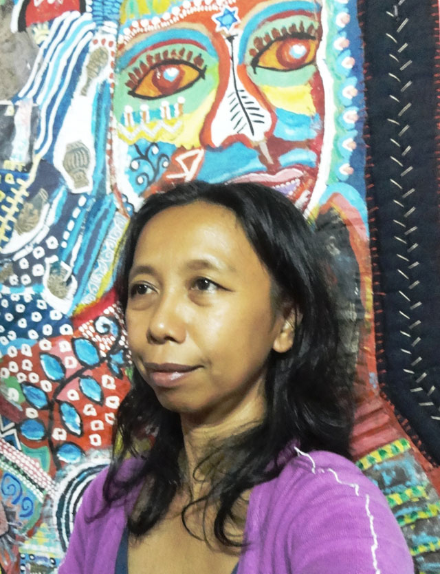 ARTIST FOR CHANGE. Alma Quinto uses her art for community empowerment. All photos courtesy of Alma Quinto