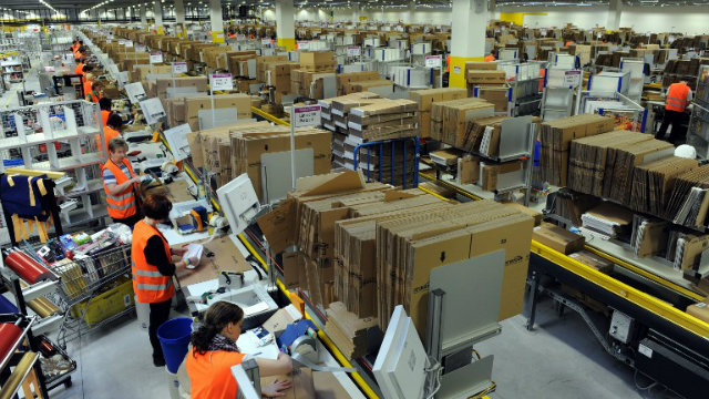 HARASSMENT? German labour Minister Ursula von der Leyen called on February 17, 2013 for a thorough probe into allegations that foreign seasonal workers hired in Germany by US online retail giant Amazon were harassed and intimidated. Photo by AFP