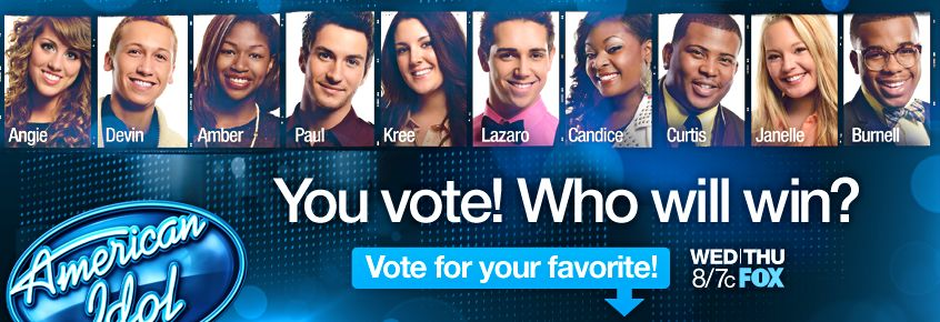 Image from the American Idol Facebook page