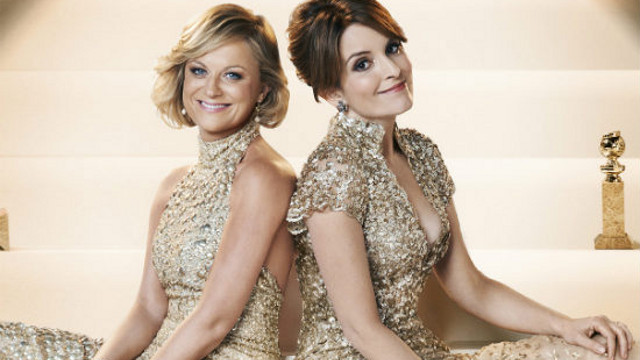 A NIGHT OF LAUGHS. 'Saturday Night Live' alumnae Amy Poehler and Tina Fey did a great job at hosting the 70th Golden Globe Awards. Photo from the Golden Globes Facebook page