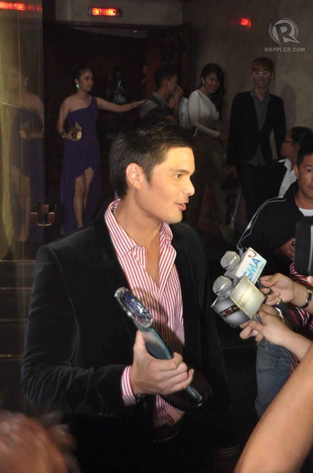 Best Actor Dingdong Dantes