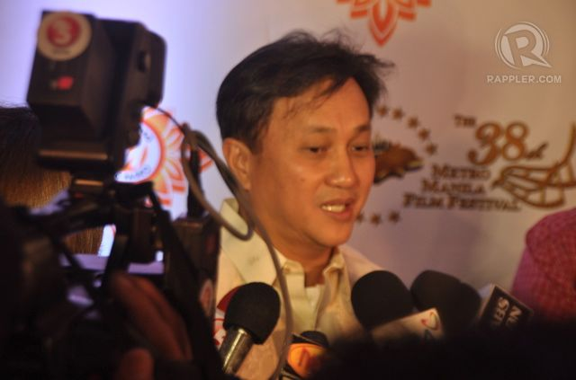 Metro Manila Development Authority Chair Francis Tolentino