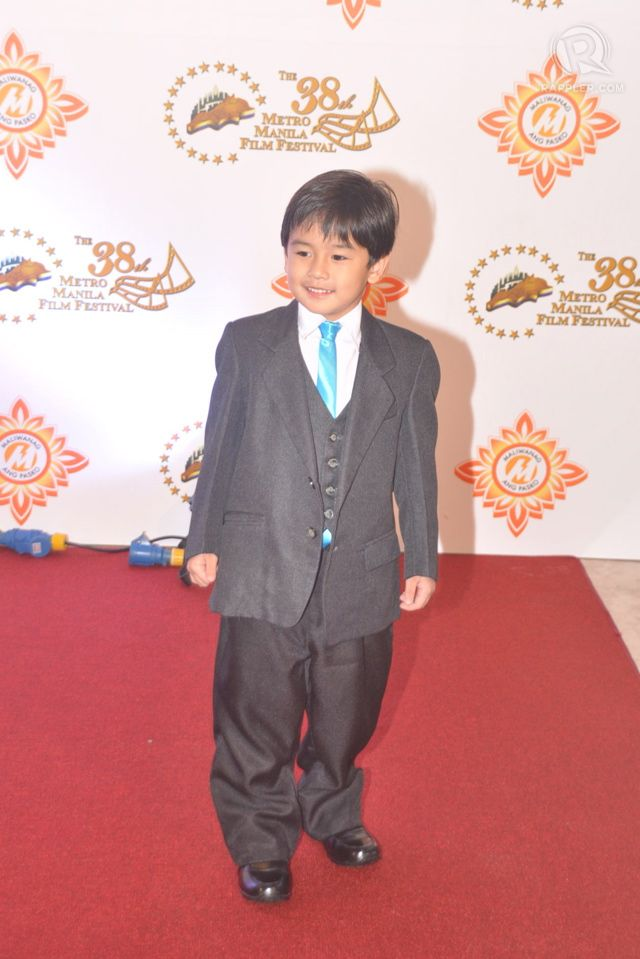 Miguel Vergara in an outfit 'from mommy and daddy'