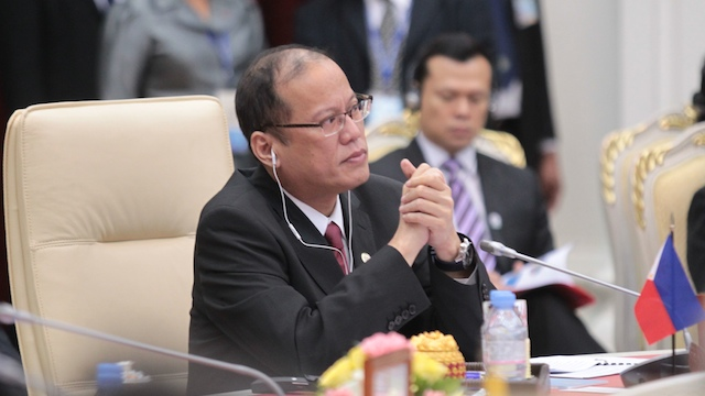 NO CONSENSUS. President Benigno Aquino III attends the ASEAN Business Advisory Council (ASEAN-BAC) meeting on November 19 in Phnom Penh, Cambodia. Photo by Gil Nartea / Malacañang Photo Bureau