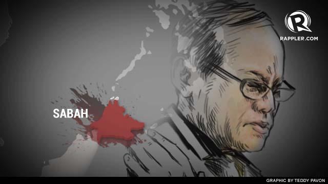Aquino turns emotional over Sabah
