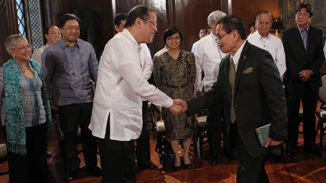 Bangsamoro draft law complete set to be submitted to palace for Cid special bureau 13 april 2014