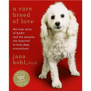 STOP PUPPY MILLS. A Rare Breed of Love by Jana Kohl, Psy. D. is available online and in bookstores nationwide. Screen shot from barnesandnoble.com