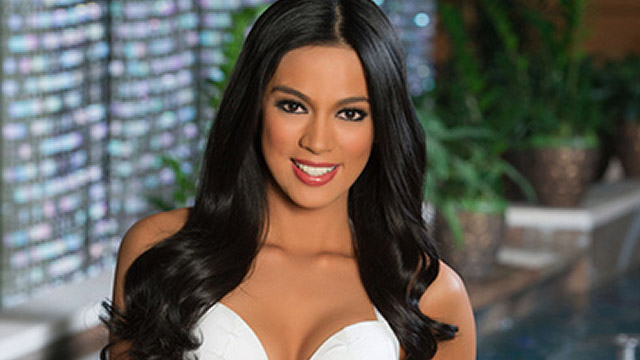 ALL SET. Miss Universe-Philippines 2013 Ariella Arida. Photo courtesy of the Miss Universe Organization LP, LLLP