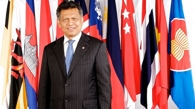 LET'S WORK TOGETHER. ASEAN Secretary-General Dr. Surin Pitsuwan wants member countries to work together in solving disputes like the one in the South China Sea. Photo courtesy of ASEAN