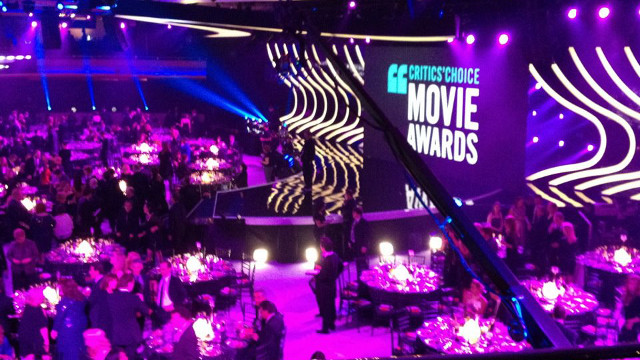 Photo from the Critics' Choice Awards Facebook page