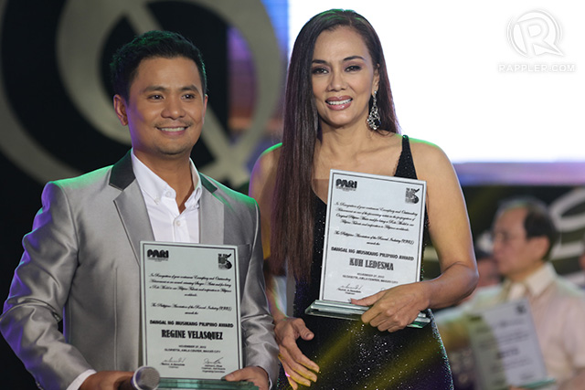 Ogie Alcasid and Kuh Ledesma