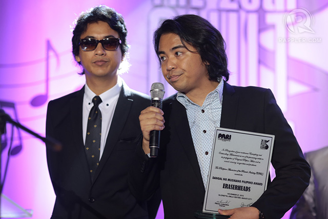 Ely Buendia and Buddy Zabala