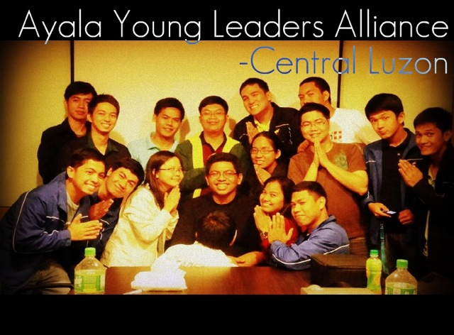 CHANGE MAKERS. Joseph Navarro (2nd row, 4th from left) and his fellow AYLC alumni set up a youth leadership summit in Central Luzon schools to replicate what he learned at the AYLC. Photo courtesy of Joseph Navarro