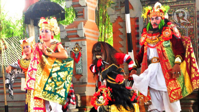 In Bali, the arts, including dance performances with elaborate costumes like these, is part of daily life