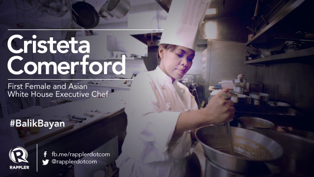 1st female white house executive chef comes home to up for Chef comes to your house