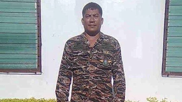 FIRST CASUALTY: Navy Petty Officer Jose Audrey Bañares of the elite Naval Special Operations Group (NAVSOG). Photo courtesy of the Philippine Navy