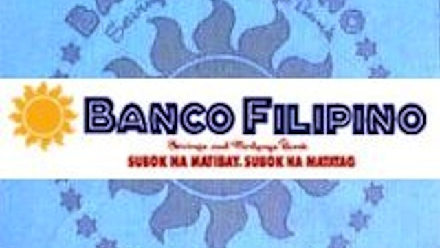 CLOSED DOWN. Banco Filipino was closed down in March 2011. Photo from WikiMedia Commons